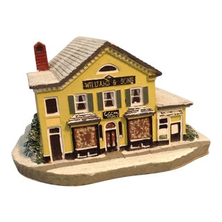 "Norman Rockwell's Main Street ""The Country Store"" Landmark Figurine For Sale"