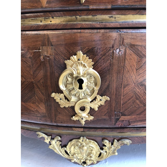 Early 18th Century French Commode With Original Marble Top For Sale - Image 12 of 13