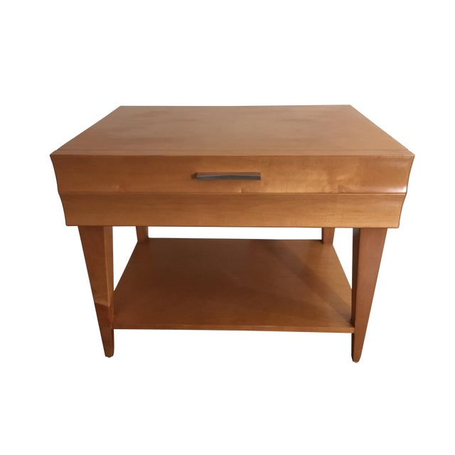 Scandinavian Modern Nightstand - Image 1 of 6