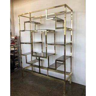 Large Italian Brass Etagere Preview