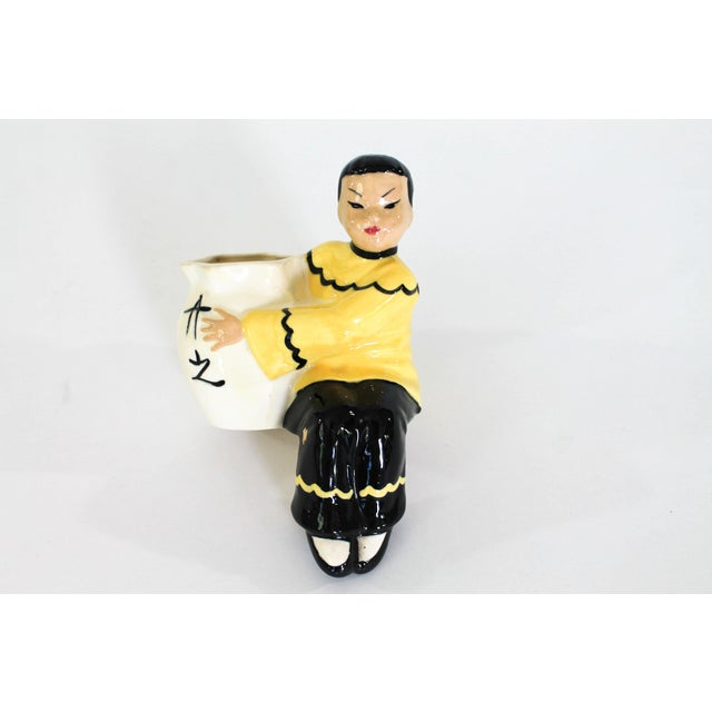 Asian Figurine Planter For Sale In Milwaukee - Image 6 of 7