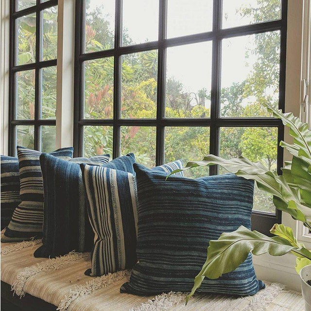 We love the Farmhouse Modern style by which this pillow was inspired. But frankly, we love a good stripe in just about...