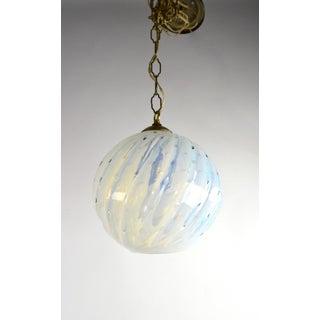 Murano Controlled Bubble Hanging Globe Shade Chandelier Fixture Preview