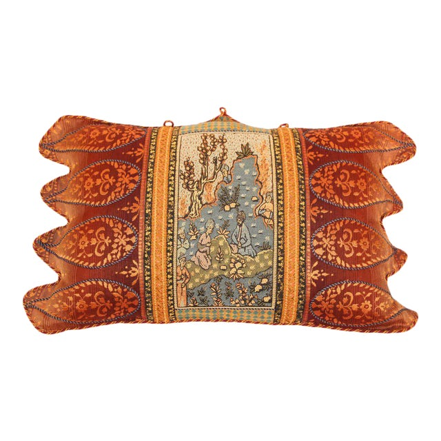 Middle Eastern Decorative Throw Pillow For Sale