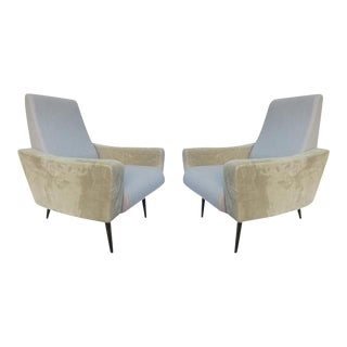 A Pair of Armchairs attributed to Pierre Guariche, France 1960