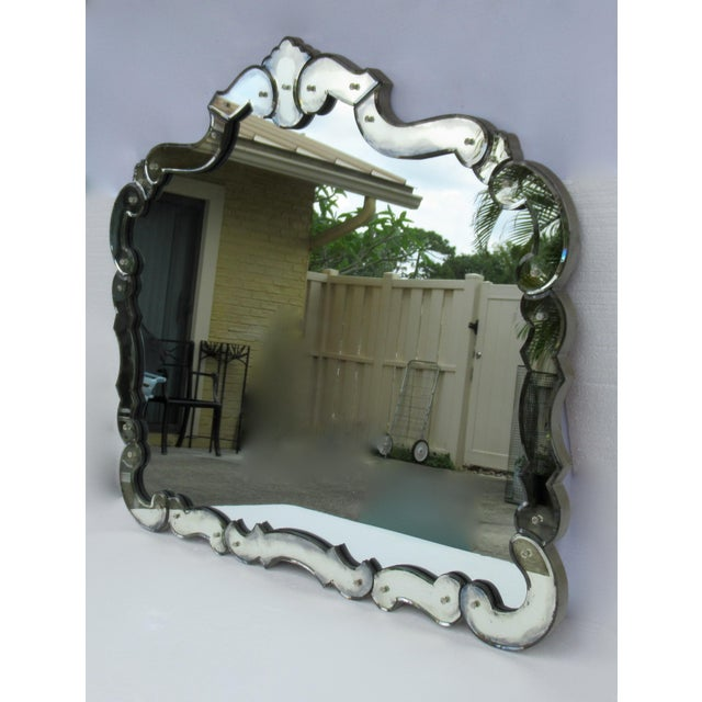 Vintage: Circa1940's-50's, late Art Deco period and into the hey day of the fabulous Hollywood Regency era, is this...