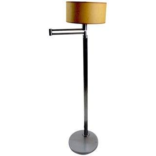 Mid 20th Century Walter Von Nessen Floor Lamp Early Version For Sale