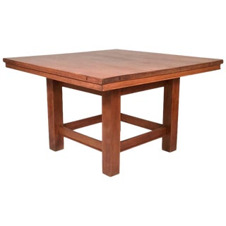 Arts and Crafts Period Prairie School Table attributed to Frank Lloyd Wright For Sale