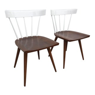 Pair of Paul McCobb Two-Toned Planner Chairs For Sale