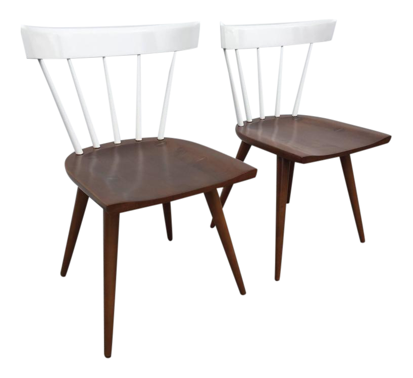 Pair Of Paul McCobb Two Toned Planner Chairs   Image 1 Of 6