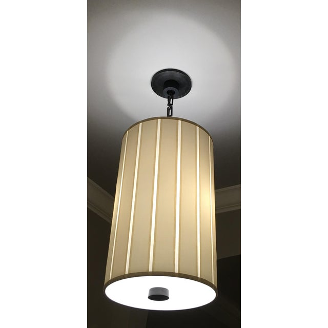 Traditional Barbara Barry Perfect Pleat 2-Light Hanging Shade For Sale - Image 3 of 4