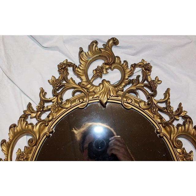 Vintage Rococo-Style Mirror - Image 4 of 6