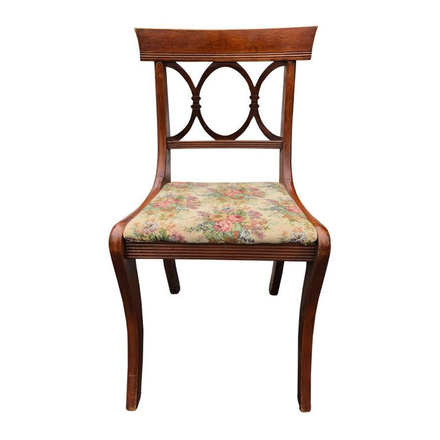 An exceptional set of dining chairs, crafted by one of the most sought after manufactures! • Hand crafted of solid...