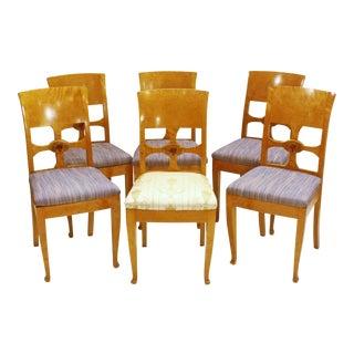 Set of Six Chairs, by Anton Kjaer, Copenhagen