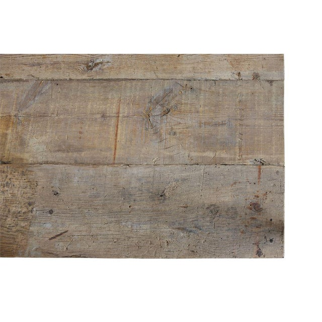 French French Rectory Wooden Table For Sale - Image 3 of 8