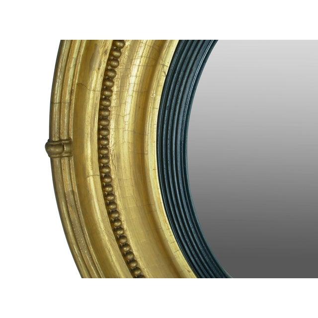 Regency Style Giltwood Convex Mirror - Image 6 of 8