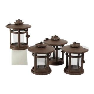 Rutherford Round Lanterns - Set of 4