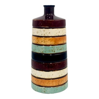 Ceramic Midcentury-Style Bud Vase For Sale