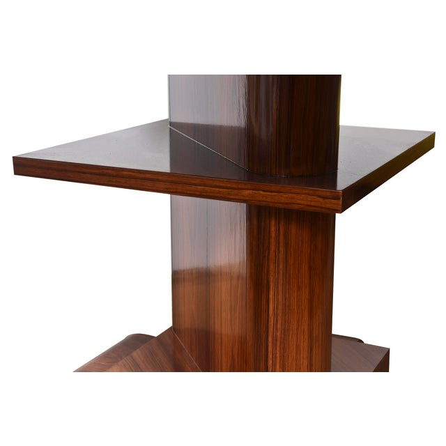 Architectural Larry Lazlo/ Bexley Heath for Widdicomb Square Rosewood Center Table For Sale In Miami - Image 6 of 10