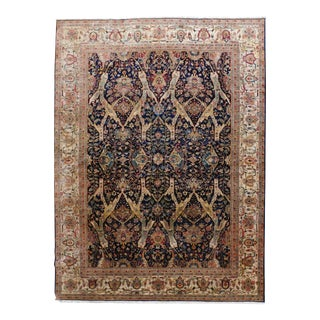 """Genuine Hand Knotted Rug. 10'x 13'8"""" For Sale"""