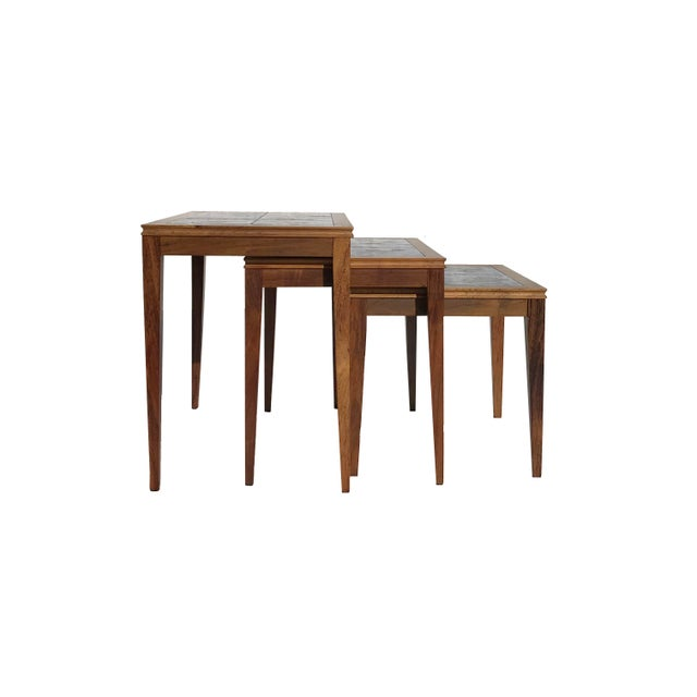 Modern Nesting Tables - Set of 3 - Image 6 of 8