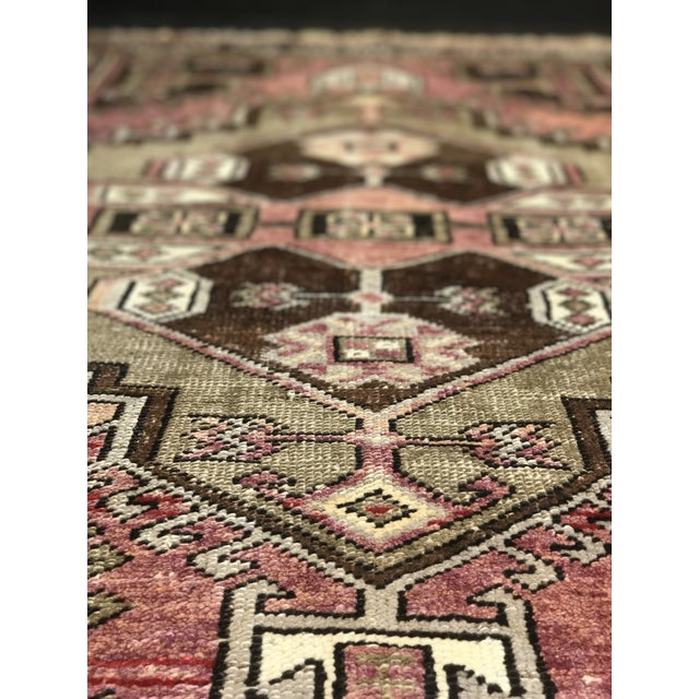 """Bellwether Rugs Distressed Look Vintage Turkish Oushak - 2'11""""x4'7"""" - Image 6 of 11"""