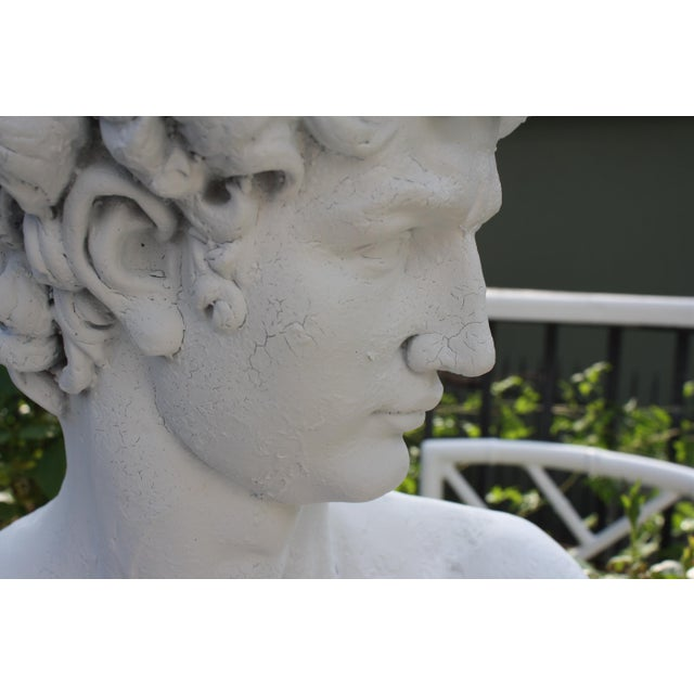 Large Scale Bust of David For Sale - Image 9 of 13