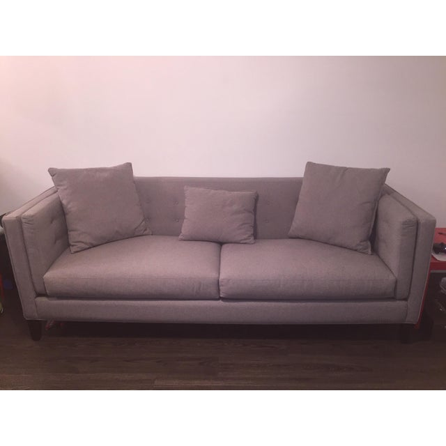 Braylei Gray Track Arm Sofa - Image 2 of 7