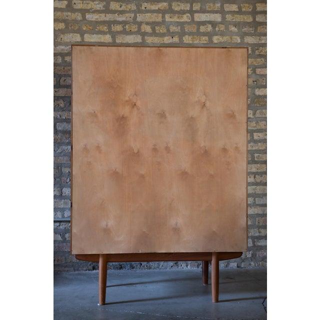 Mid-Century Modern 1960s Børge Mogensen Highboy Dresser For Sale - Image 3 of 7