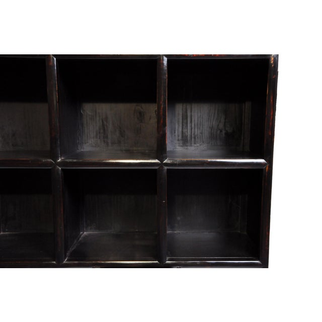 Ceramic Impressive Chinese Display Cabinet With Twelve Drawers For Sale - Image 7 of 13