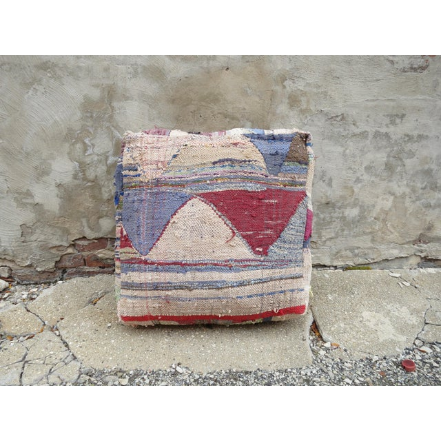 Islamic Moroccan Floor Pillow For Sale - Image 3 of 4