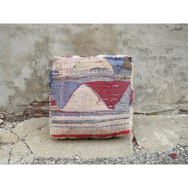 Moroccan Floor Pillow - Image 3 of 4