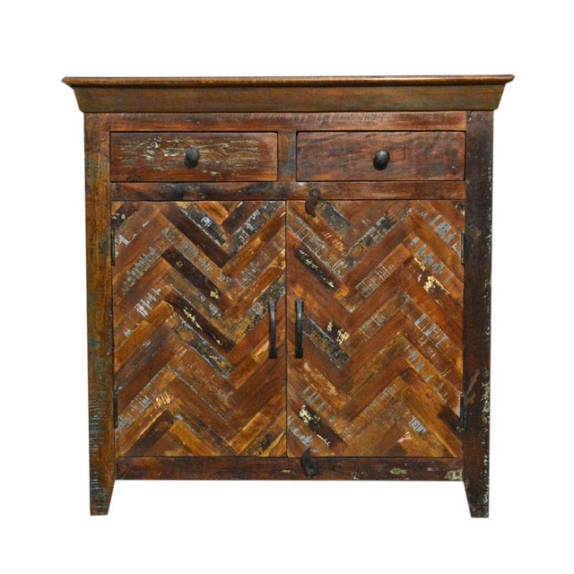 Reclaimed Sideboard Free Standing Cabinet - Image 1 of 3