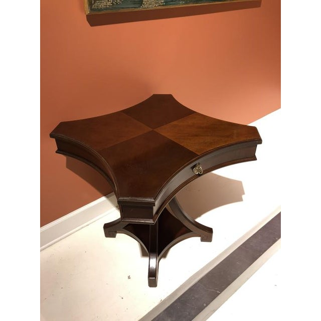 Traditional Century Furniture Hope Chairside Table For Sale - Image 3 of 4