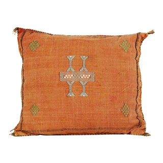 Orange Sabra Pillow For Sale