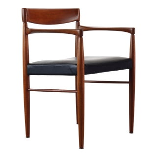 H.W. Klein for Bramin Teak Desk Chair / Side Chair, Norway For Sale