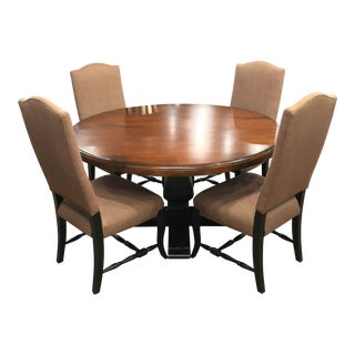 French Saloom Dining Set - 5 Pieces For Sale