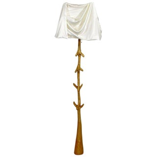 1970s Art Deco Surrealist Salvador Dali Muletas Floor Lamp For Sale