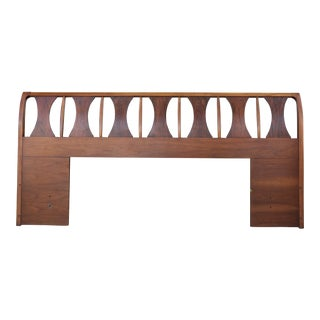 Walnut Mid Century Headboard