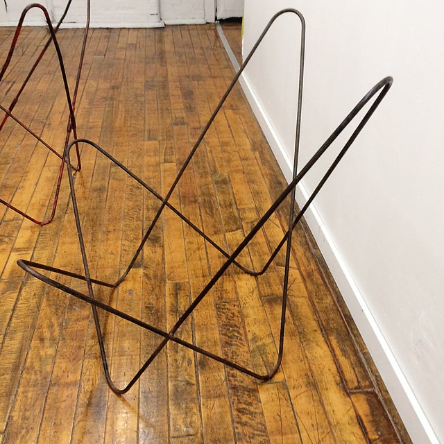 Iron Butterfly Chair Frames - Image 4 of 7