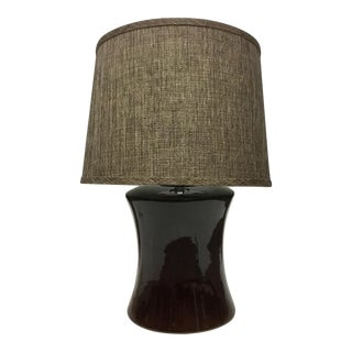 New Safavieh Table Lamp & Vintage Shade For Sale
