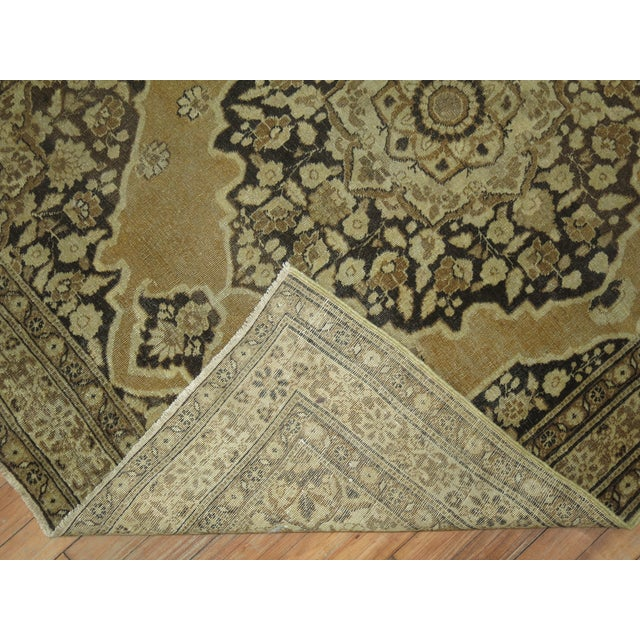 Persian Tabriz Rug 3'10'' X 5'. For Sale - Image 4 of 6