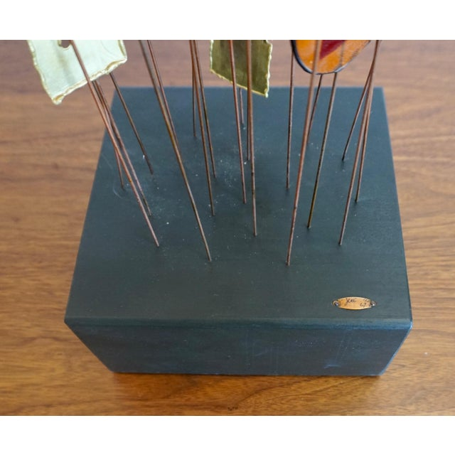 Curtis Jere Kinetic Abstract Sculpture Bt Curtis Jere For Sale - Image 4 of 8