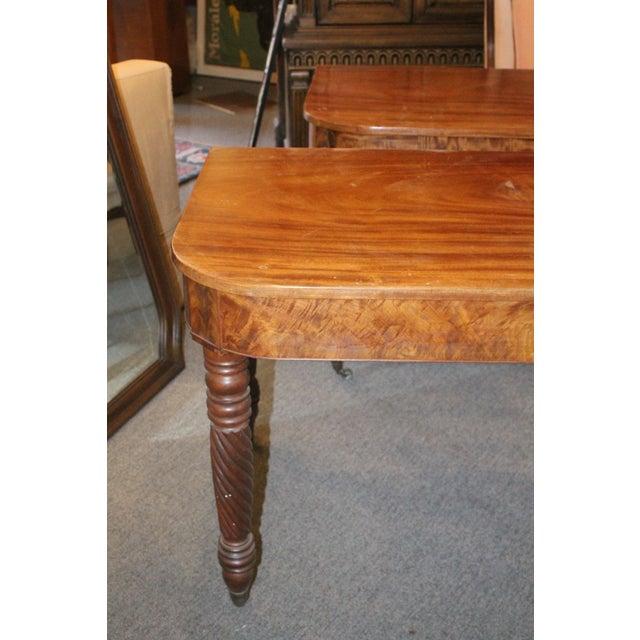Art Nouveau 20th Century Art Nouveau Console Tables - a Pair For Sale - Image 3 of 6