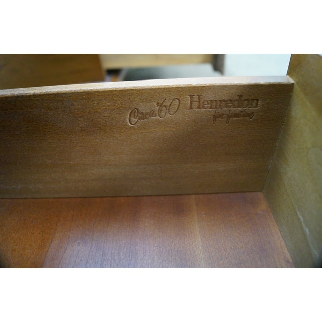 Heritage Henredon Mid Century End Tables - Image 5 of 10
