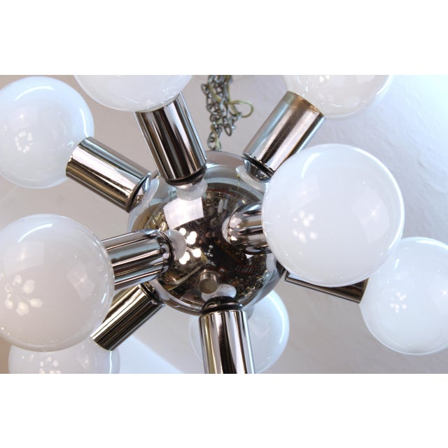 Mid-Century Modern Atomic Age Molecular Chandelier For Sale - Image 3 of 6