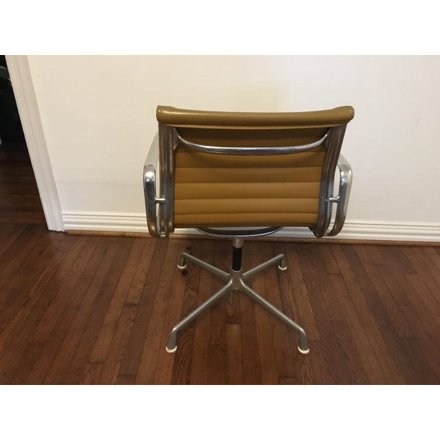 Eames Style Gold Office Chairs - A Pair - Image 4 of 7