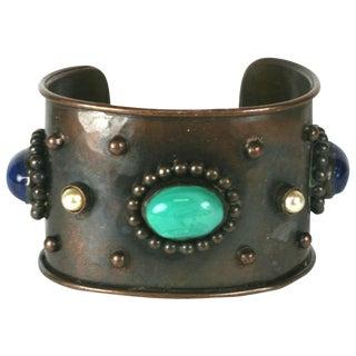 Yves Saint Laurent Berber Style Cuff Bracelet For Sale