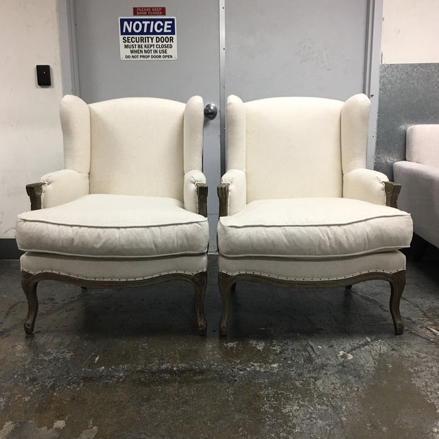 Pacific Direct Marie Armchairs, a Pair - Image 3 of 11
