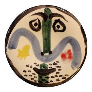 Pablo Picasso Face No. 130, Madoura, 1963